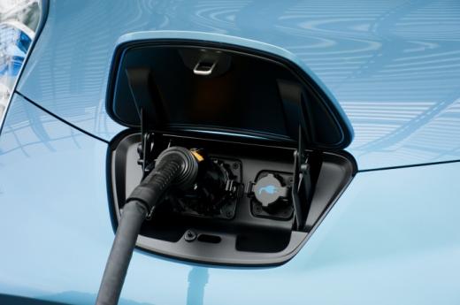 2011 Nissan Leaf Charging