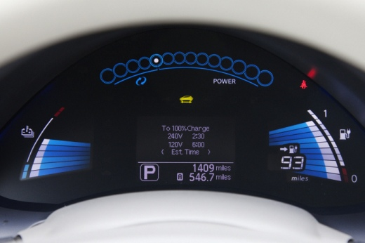 2011 Nissan Leaf Dash