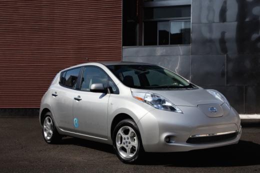2011 Nissan Leaf Front