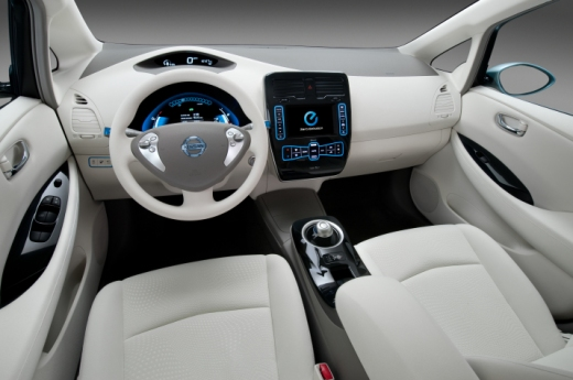 2011 Nissan Leaf Interior