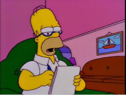 Simpsons Letter  Dollars